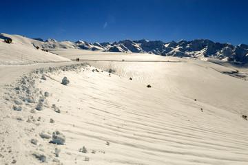 Ski de fond, circuit raquettes