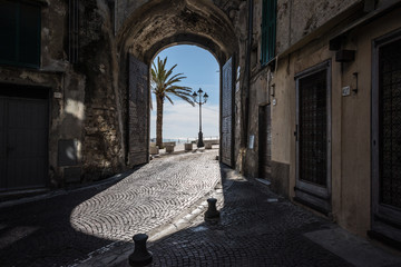 Fotomurales - Architecture and sights of Ventimiglia