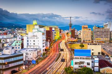 Beppu, Oita, Japan Skyline