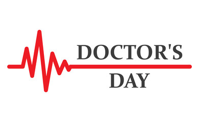 Medical background for Doctors day. Vector illustration
