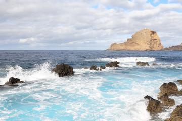 Volcanic Pools of Madeira Island, Portugal