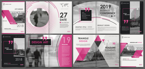 Abstract white a4 brochure cover design. Fancy info banner frame. Modern ad flyer text. Annual report binder. Title sheet model set. Fancy vector front page. City font blurb art. Red line figure icon
