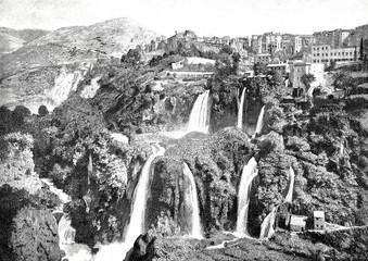 Die Wasser Kaskaden von Tivoli
