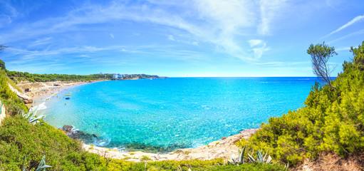 Fototapete - Sunny costa dorada resort