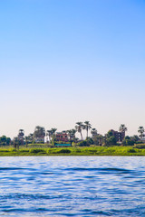 River in Egypt, Nile in Africa