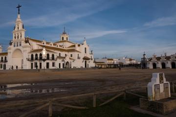 El Rocio village in Andalusia, Spain