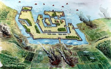 Siege of Otsu, 1600