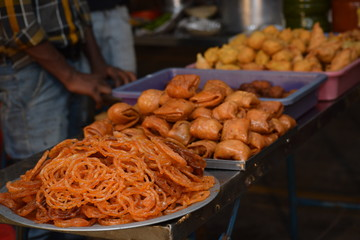 Indian snacks and sweets