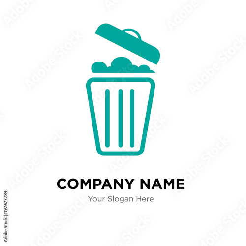 Waste Management Company Logo Design Template Business Corporate
