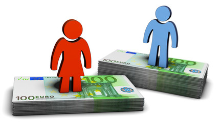 Lohnunterschied zwischen Frauen und Männern