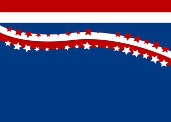 Vektor Hintergrund für den amerikanischen Independence Day. Eps 10 Vector Datei
