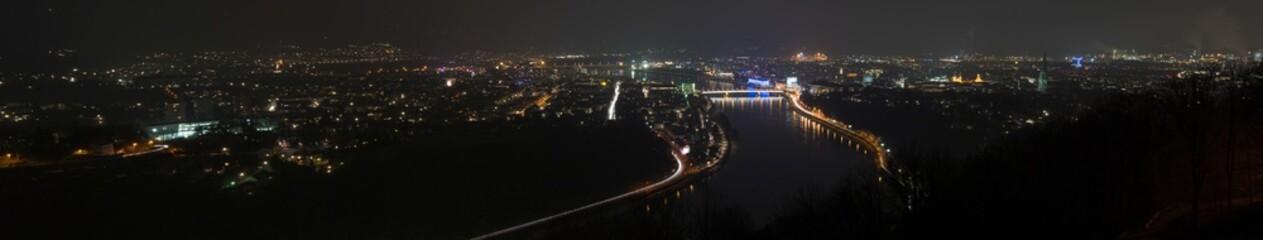 Österreich Linz Panorama