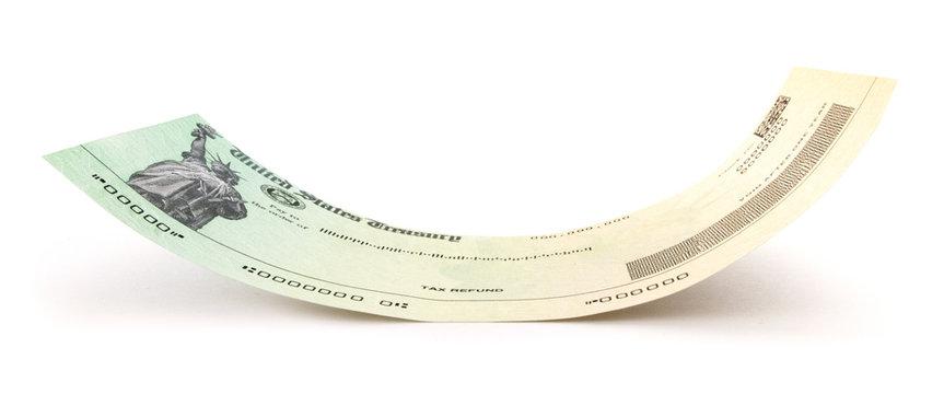 Curved Treasury Check