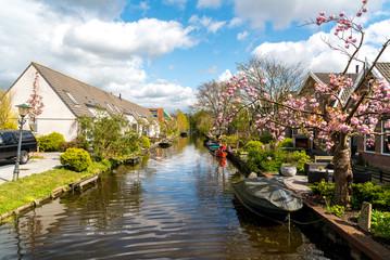 Beautiful small canal