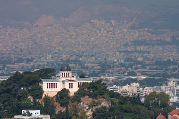 アテネの町並み