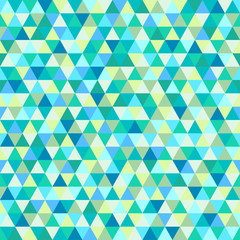 Seamless triangle pattern. Abstract geometric wallpaper of the surface. Cute background. Cute colors. Print for polygraphy, posters, t-shirts and textiles. Beautiful texture. Doodle for design