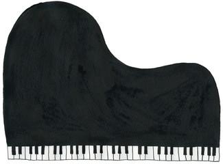 グランドピアノ(黒)grand piano black