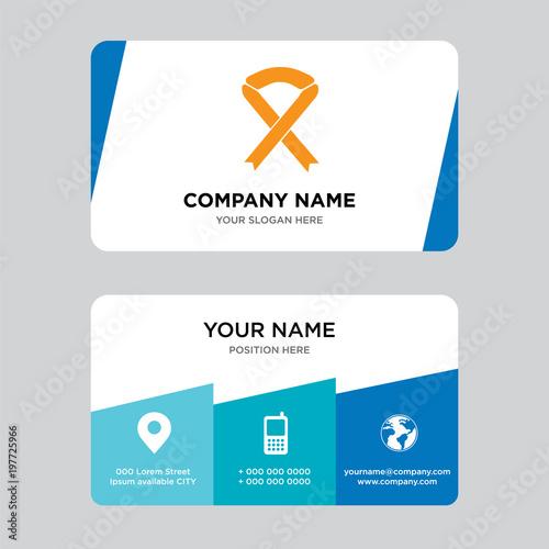 Breast cancer ribbon business card design template visiting for breast cancer ribbon business card design template visiting for your company modern creative and maxwellsz