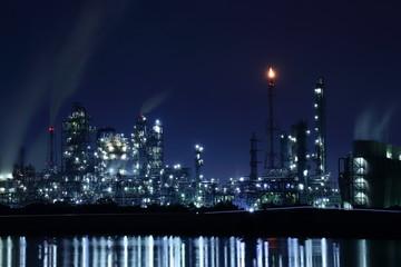 鈴鹿工場夜景