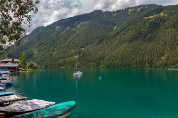 See in Österreich mit klarem Wasser