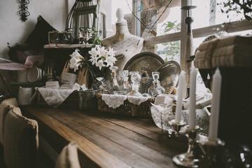 Vintage Cafe Love