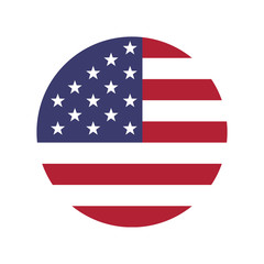 America flag vector icon