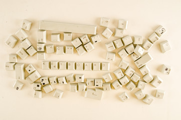 Alphabet numbers and some other keys