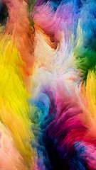 Dreaming of Colorful Paint