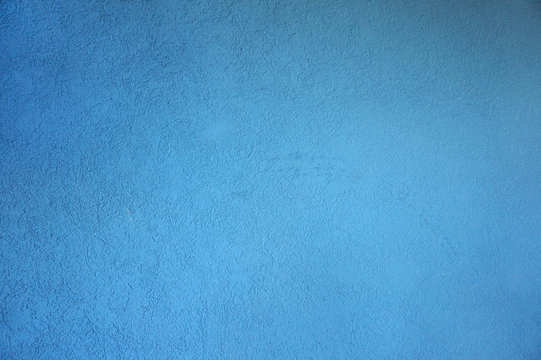 texture of the concrete wall with a shallow blue texture
