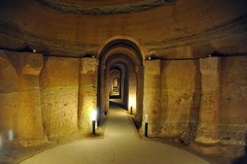 Ancona, Sirolo, caves of Camerano