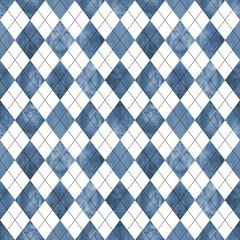 Argyle seamless pattern background.