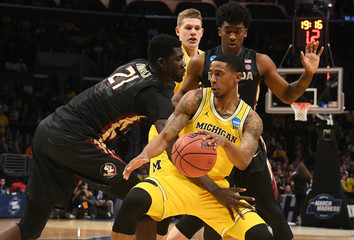 NCAA Basketball: NCAA Tournament-West Regional-Michigan vs Florida State