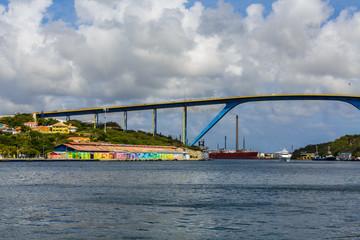 Queen Juliana Bridge in Willemstad