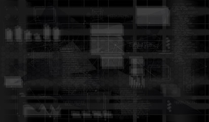 Glitch Effect. Floating Numbers and data HUD Background. Matrix particles grid virtual reality. Smart build. Grid core. Hardware quantum form.Abstract tech background. Test Screen Glitch Texture.