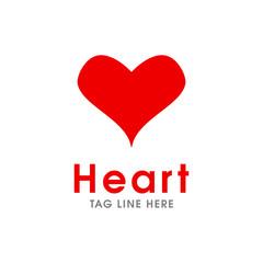 love logo red colour
