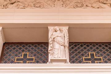 Architektur der St. Nikolaikirche in Potsdam