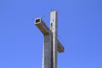 Cross of third millenium at Coquimbo Chile