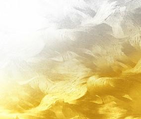 金銀の抽象的背景