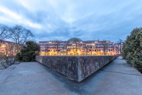 Platz der Einheit in Potsdam