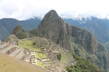 Der Machu Picchu in all seiner Pracht