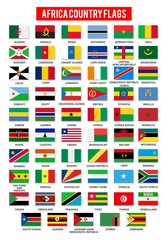 Africa Flag Collection