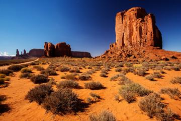Oljato Monument Valley in Utah, USA