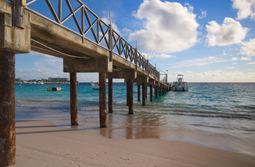 Bridgetown, Barbados - Tropical island - Caribbean sea - Brownes beach - Carlisle bay