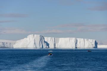 Tabular iceberg in Antarctica