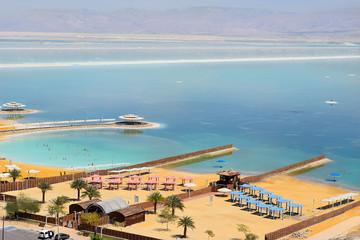 landscape at the Dead Sea, Israel shore