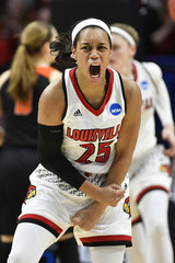 NCAA Womens Basketball: NCAA Tournament-Lexington Regional-Oregon State vs Louisville