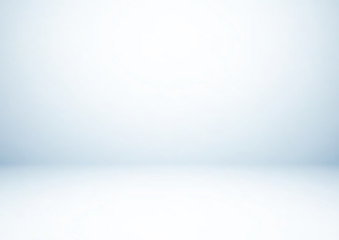 Empty gray studio room, used as background for display your products, vector