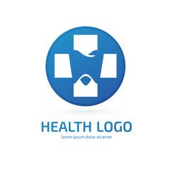 Logo design stomatology vector template.