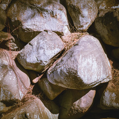 Large rocks as a background, Nature and outdoors concept background.