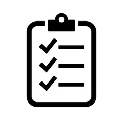 Check list vector icon